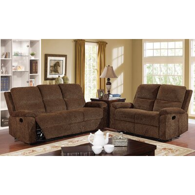 Kibler Transitional Recliner Living Room Set