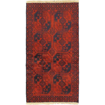 One-of-a-Kind Shaffer Hand-Knotted Wool Red Area Rug