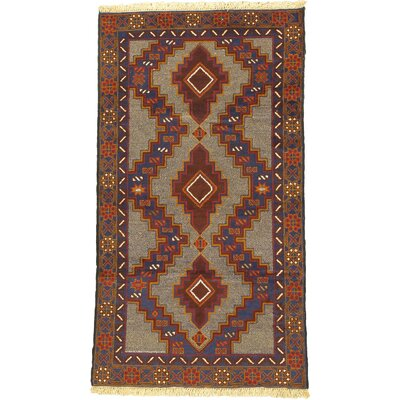 One-of-a-Kind Mcdorman Hand-Knotted Wool Brown/Beige Area Rug