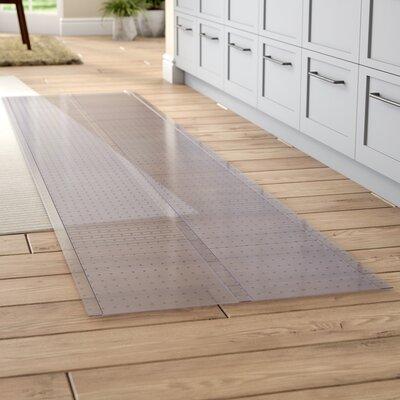 Clear Carpet Protector Doormat Mat Size: Rectangle 23x10