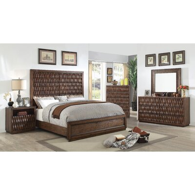 Pinnix Panel Configurable Bedroom Set