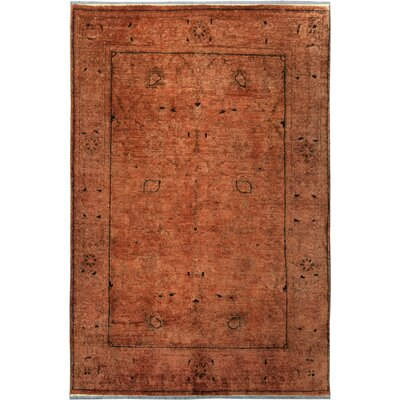 One-of-a-Kind Mcewen Hand-Knotted Wool Brown Area Rug