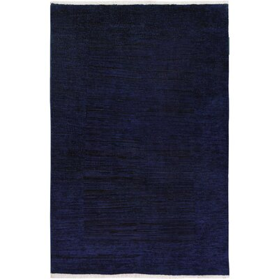 One-of-a-Kind Mcewen Hand-Knotted Wool Blue/Purple Area Rug