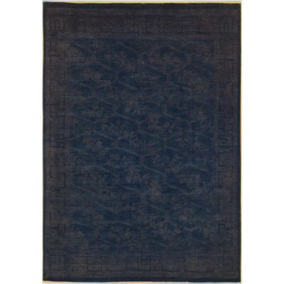 One-of-a-Kind Mcewen Hand-Knotted Wool Blue/Gray Area Rug