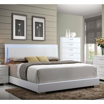 Rahaim Upholstered Platform Bed Size: King