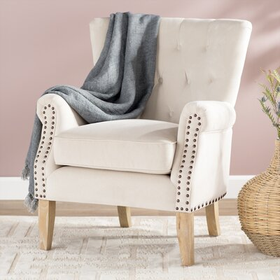 Roseanna Accent Armchair Upholstery: Beige