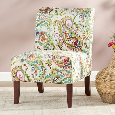 Willimantic Cottage-Chic Curved Back Slipper Chair