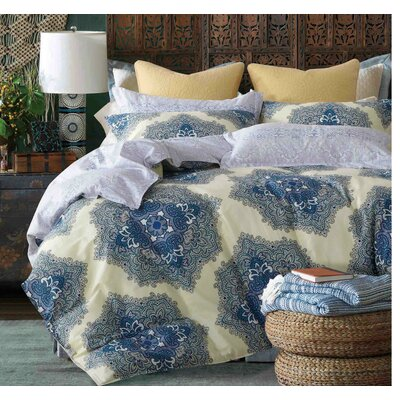 Mckinnie 220 Thread Count 100% Cotton Sheet Set Size: Twin/Twin XL