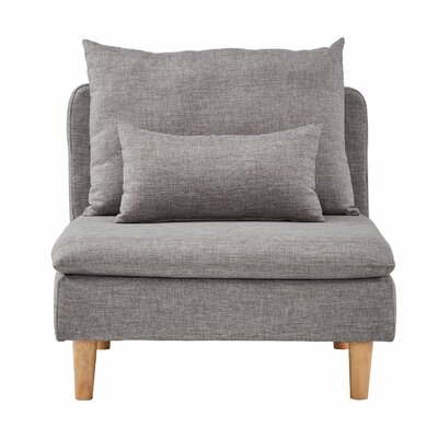 Dubbo Modular Guest Chair Seat Color: Gray