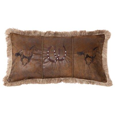 Vandiver Running Horses Lumbar Pillow