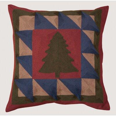 Vandoren Chain Stitch Tree Throw Pillow