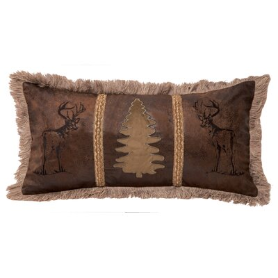 Vandusen Buck and Trees Lumbar Pillow