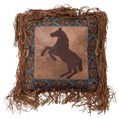 Vandyke Rearing Horse Throw Pillow