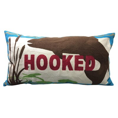 Vanetten Hooked Chain Stitch Lumbar Pillow