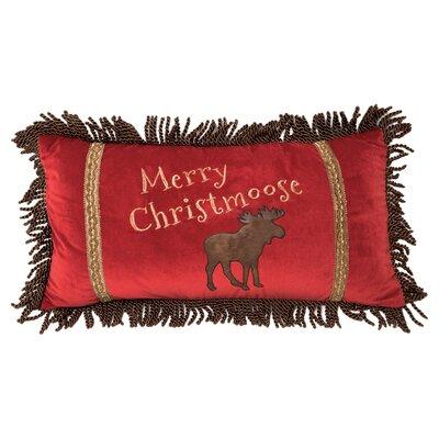 Ferber Merry Christmoose Lumbar Pillow