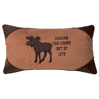 Vanfleet Making the Moose Out of Life Lumbar Pillow