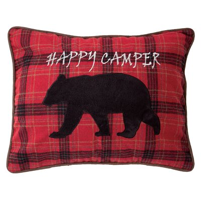 Vangundy Happy Camper Lumbar Pillow