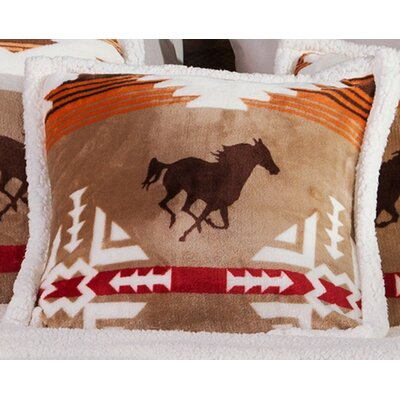 Vankirk Free Rein Throw Pillow
