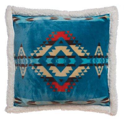 Vanmatre Turuqoise Southwest Throw Pillow