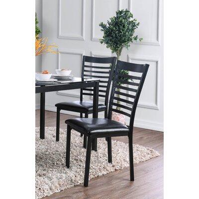 Bhamidipati Dining Chair Finish: Black