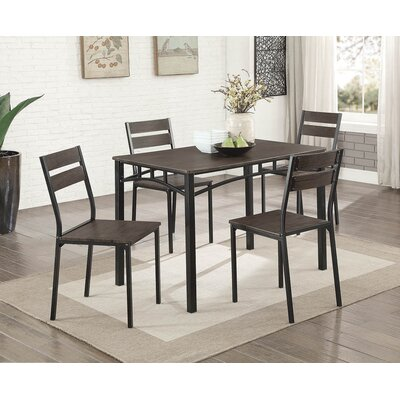 Autberry 5 Piece Dining Set