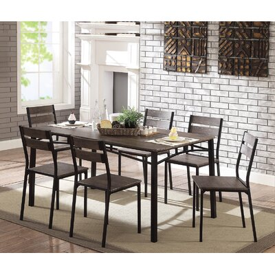 Autberry 7 Piece Dining Set