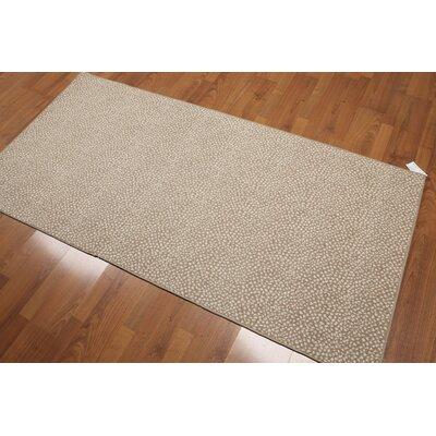 Knarr Modern Wool Beige Area Rug
