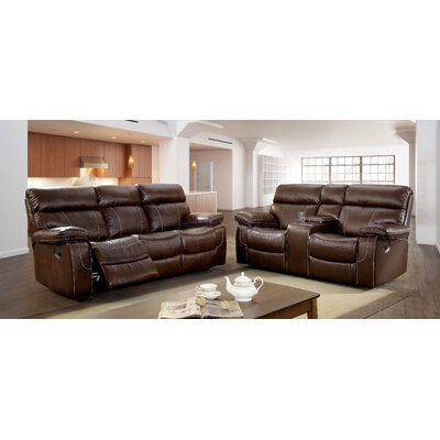 Kian Leatherette Living Room Set