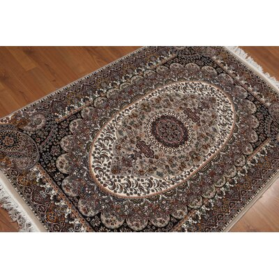 Georg Persian Traditional Oriental Brown Area Rug