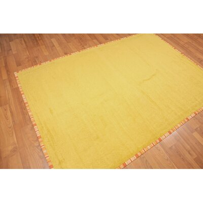 Wick St Lawrence Modern Gold Area Rug
