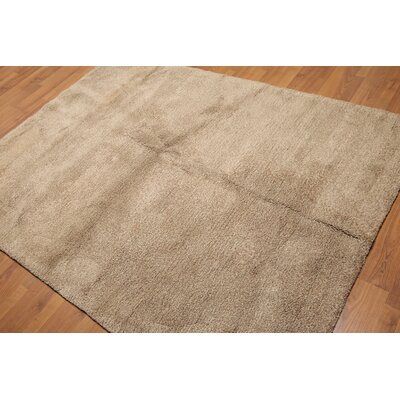 Kiryazov Modern Wool Tan Area Rug