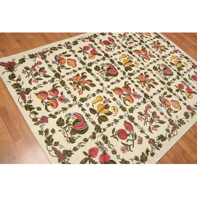 Dornhof Traditional Ivory Area Rug