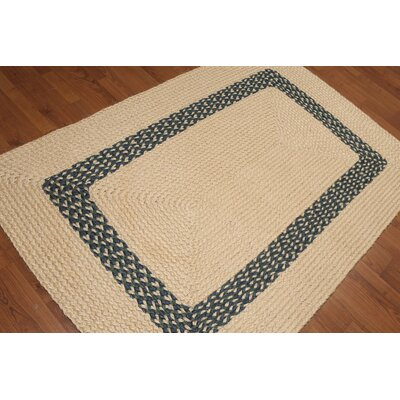 Salmu One-of-a-Kind Modern Oriental Hand-Knotted Natural Sisal Area Rug