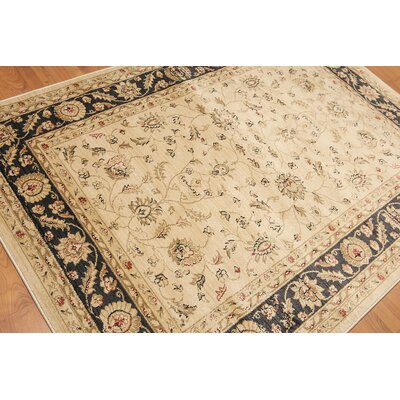 Garen Traditional Beige Area Rug