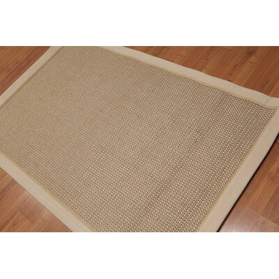 Donatella One-of-a-Kind Modern Oriental Hand-Knotted Brown Area Rug