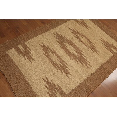 Quattlebaum One-of-a-Kind Modern Oriental Hand-Woven Gold Area Rug