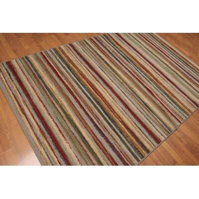 Cedarville Modern Oriental Wool Gray Area Rug