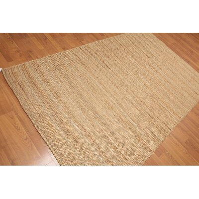 Donato One-of-a-Kind Modern Oriental Hand-Knotted Straw Area Rug