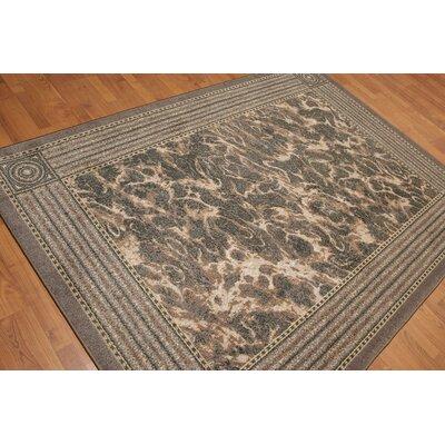 Geraldina Pile Modern Oriental Gray Area Rug