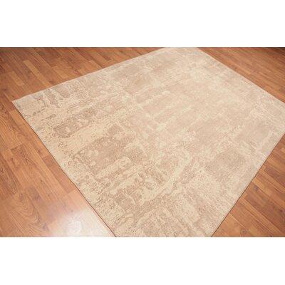 Probolinggo Modern Oriental Wool Beige Area Rug