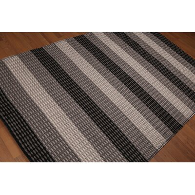 Ballaghmore One-of-a-Kind Plus Pile Modern Oriental Hand-Woven Wool Beige Area Rug