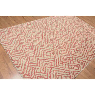 Raab One-of-a-Kind Contemporary Oriental Hand-Knotted Wool Beige Area Rug
