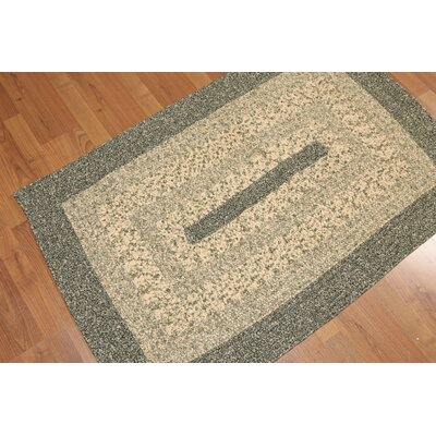 Youd One-of-a-Kind Modern Oriental Hand-Knotted Cotton Beige Area Rug