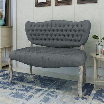 Finch Loveseat Upholstery: Dark Gray