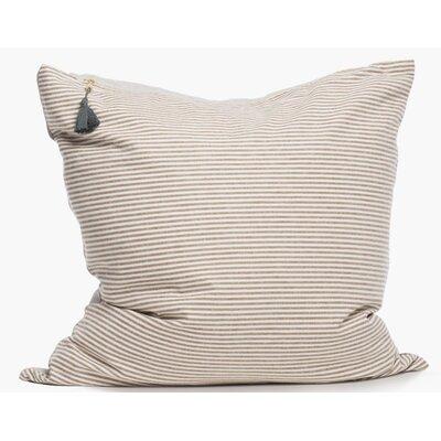 Rhuddlan Cotton Throw Pillow Color: Brown