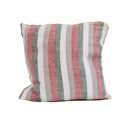 Bertina Stripe Linen Throw Pillow