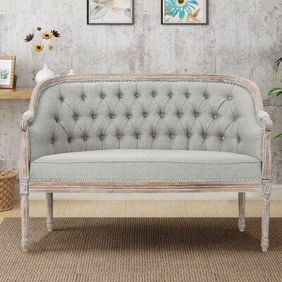 Fincham Loveseat Upholstery: Light Gray