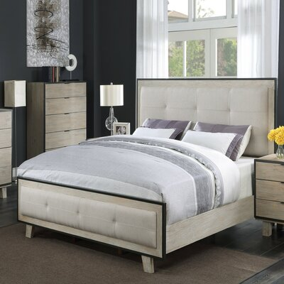 Belmar Upholstered Panel Bed Size: King