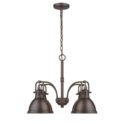 Bodalla 4-Light Shaded Chandelier Finish: Rubbed Bronze with Rubbed Bronze Shade