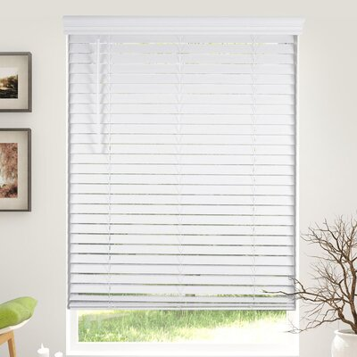 Cordless Room Darkening White Horizontal/Venetian Blind Blind Size: 33.5 W x 60 L